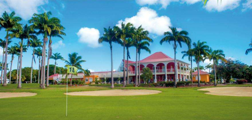 The international golf of Saint-Francois Guadeloupe